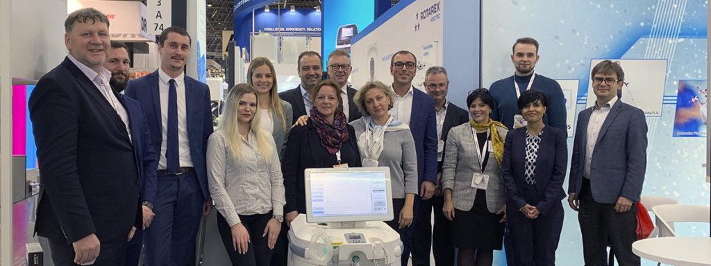 Выставка MEDICA Trade Fair 2019 в Дюссельдорфе